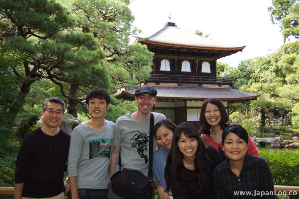 In Kyoto with friends from Nagoya