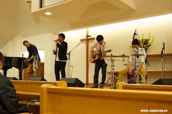 Concert at the youth event on Saturday